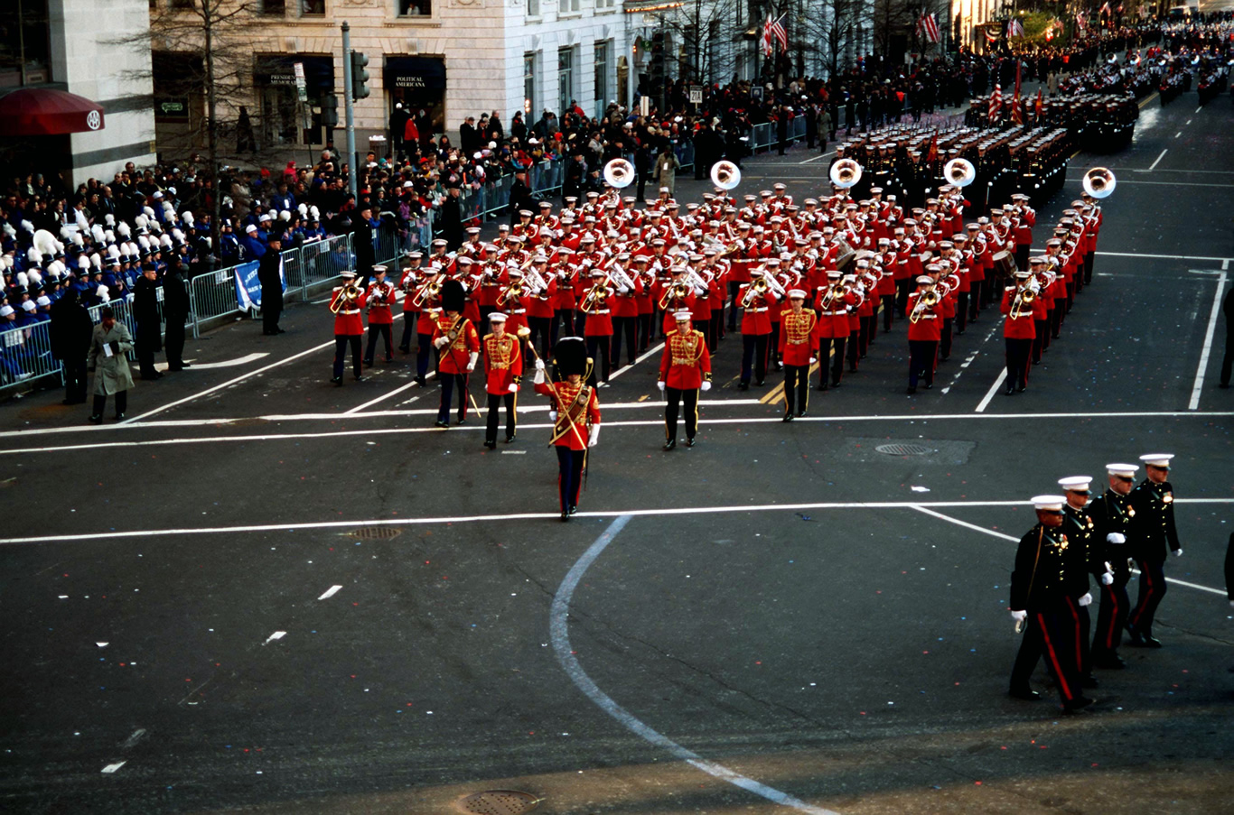 Are ceremonial parades important to you?